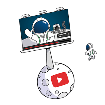 Catégorie publicité Youtube