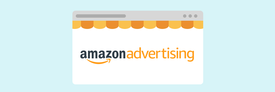 Bannière Amazon Advertising