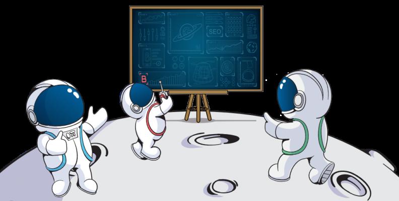 trois petits cosmonautes